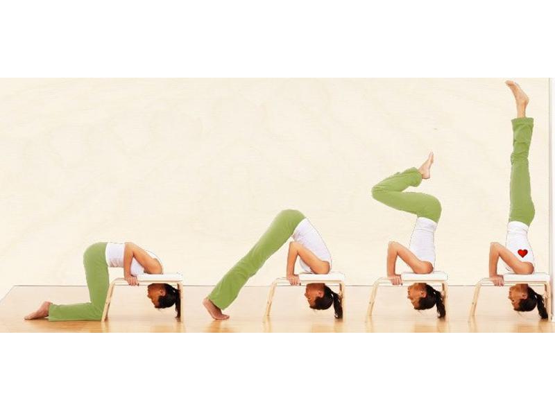 sirsasana bench queen s pose chin mudra sas france yoga accessories. Black Bedroom Furniture Sets. Home Design Ideas