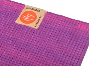 Tapis de yoga Rainbow 183cm x 61cm x 6mm - Rose & Violet