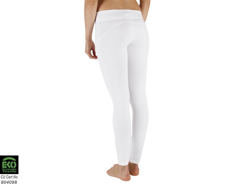 Yoga Legging 95% Organic cotton and 5% Lycra - White  5e6e435a97a