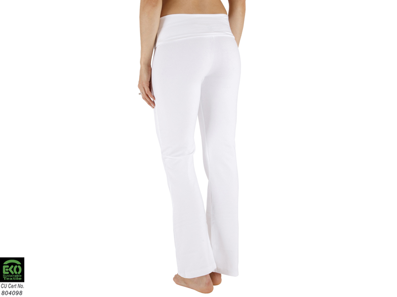 pantalon yoga femme blanc. Black Bedroom Furniture Sets. Home Design Ideas