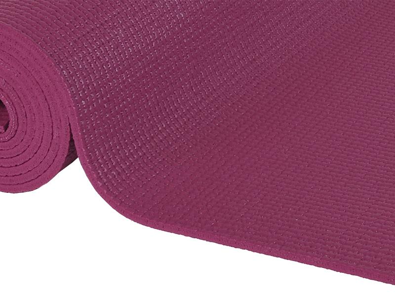 tapis de yoga confort non toxiques 183cm x 61cm x 6mm prune chin mudra sas france. Black Bedroom Furniture Sets. Home Design Ideas