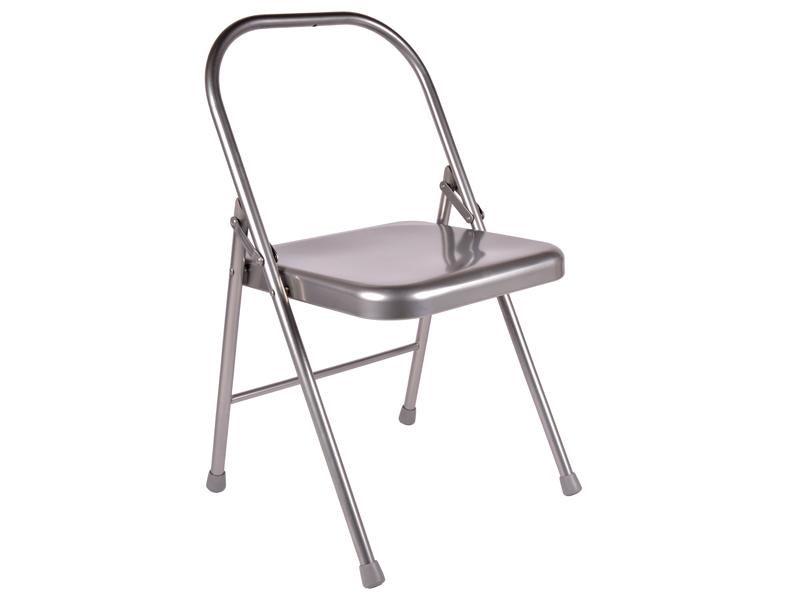 Chaise de yoga 1 barre grise chin mudra sas france for Chaise yoga iyengar