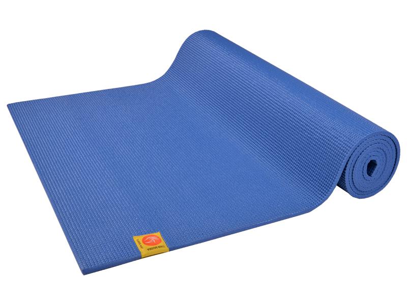 tapis de yoga non toxiques 183cm x 61cm x bleu chin mudra sas france accessoires. Black Bedroom Furniture Sets. Home Design Ideas