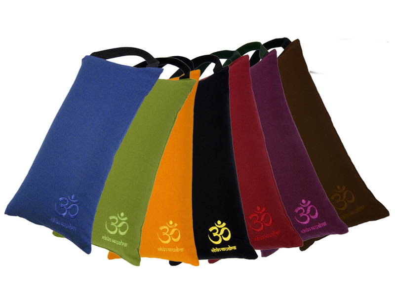 sac de sable sandbag 100 coton bio livr avec sable chin mudra sas france accessoires yoga. Black Bedroom Furniture Sets. Home Design Ideas