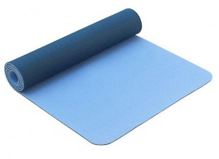 Tapis de Yoga Eco-Terre 183 cm X 60 cm x 6 mm - Bleu