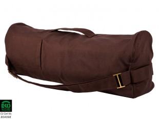 sac tapis de yoga chic et cool 100 coton bio 70cm x 17cm chocolat chin mudra sas france. Black Bedroom Furniture Sets. Home Design Ideas