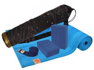 kit rainbow de couleur bleu lagon chin mudra sas france accessoires yoga. Black Bedroom Furniture Sets. Home Design Ideas