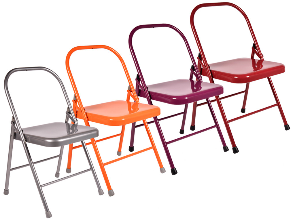 Chaise de Yoga 2 barres Lot de 5