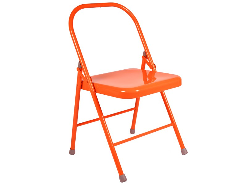 Chaise de Yoga 2 barres Orange