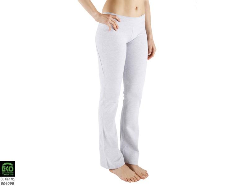 pantalon de yoga chic 95 coton bio et 5 lycra gris v tements de yoga femme homme. Black Bedroom Furniture Sets. Home Design Ideas