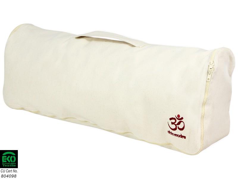 sac tapis de yoga chic et cool 100 coton bio 70cm x 17cm blanc sacs tapis de yoga. Black Bedroom Furniture Sets. Home Design Ideas