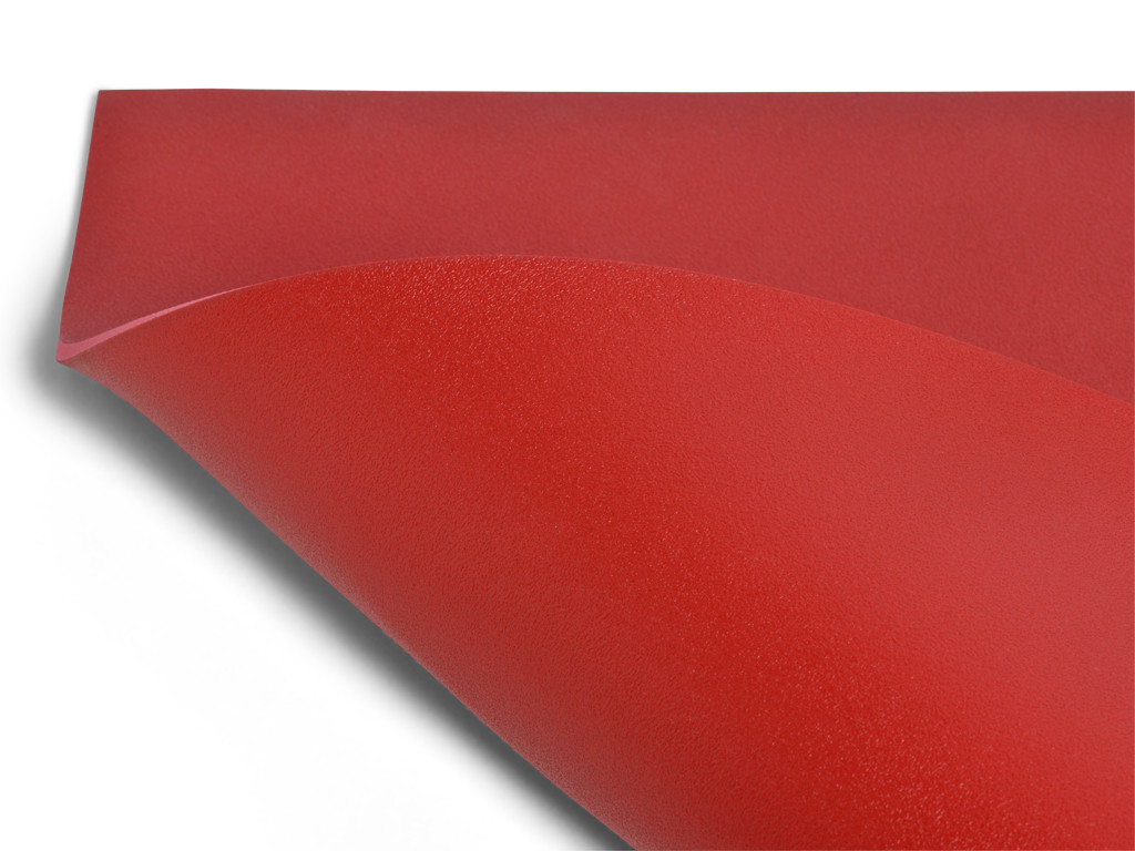 Tapis de yoga Excellence Mat 100% Latex - 6mm Bordeaux