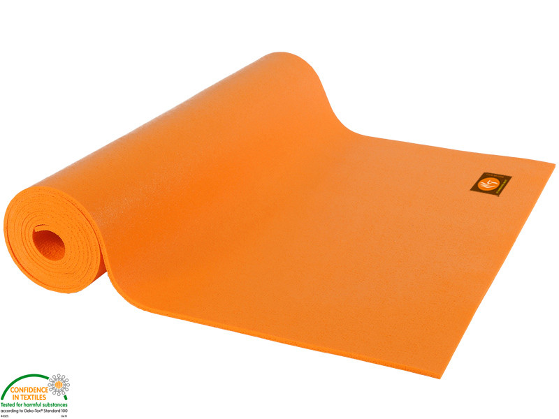 Tapis Standard-Mat Enfant 150cm x 60cm x 3mm Orange Safran