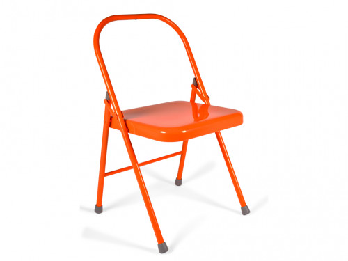 Article de Yoga Chaise de Yoga 1 barre Orange