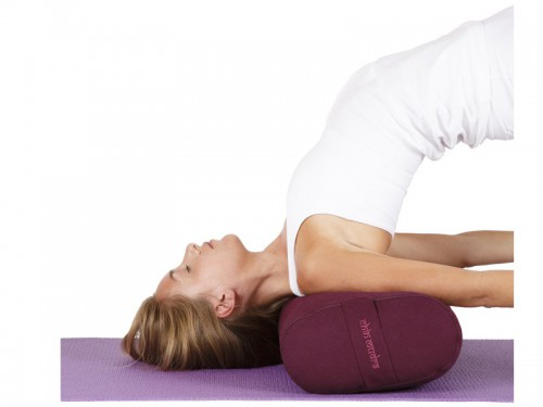 Article de Yoga Chaise de Yoga 1 barre Prune