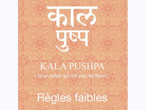 Article de Yoga Kala Pushpa-Règles Faibles Cure de 80 sachets x 1.5gr