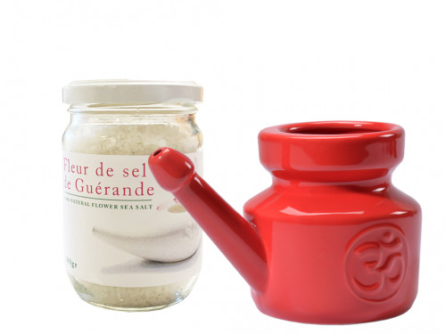 Kit Lota 400ml et Fleur de Sel Red Chili Pepper