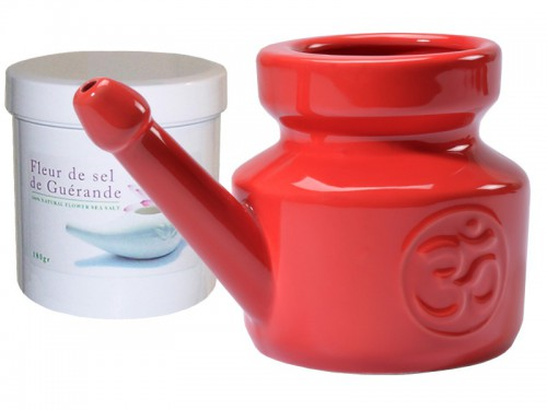 Kit Lota 400ml et Fleur de Sel - Red Chili Pepper
