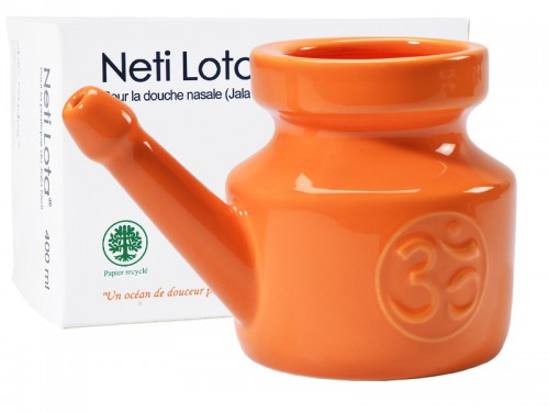 Lota Om en porcelaine émaillée Orange Safran 400ml