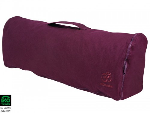 Article de Yoga Sac à tapis de yoga Chic et Cool 100% Coton Bio 70cm x 17cm Prune