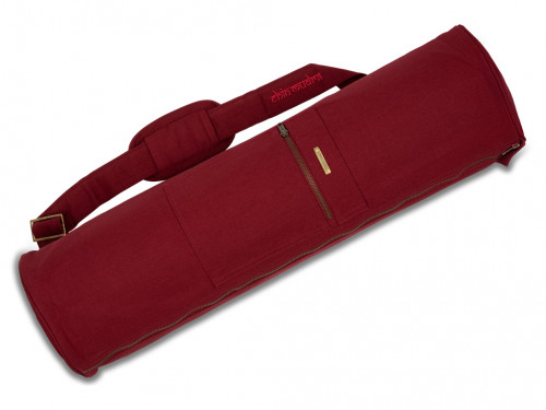 Sac à tapis de yoga Large-Bag 72cm X 22cm Bordeaux