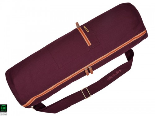Sac à tapis de yoga Large-Bag 72cm X 22cm Prune