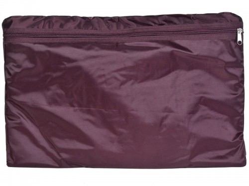 Article de Yoga Sac de transport pour Futon de massage 148cm Prune