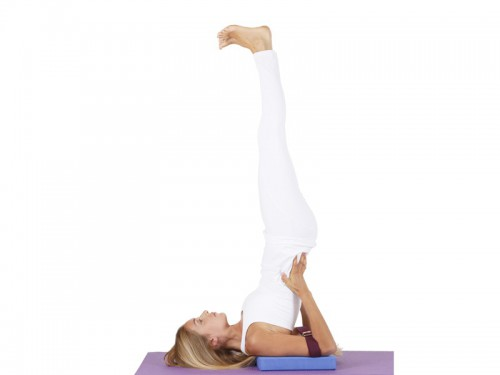 Article de Yoga Sangle de yoga 100% coton Bio boucle 1/2 lune Safran