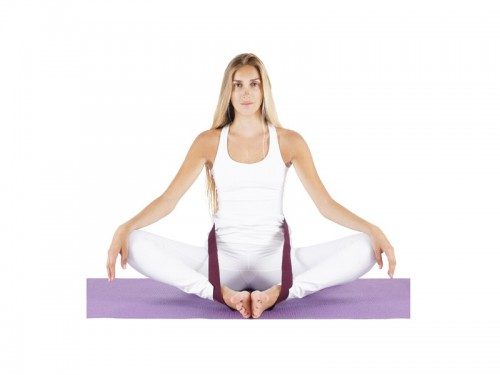 Article de Yoga Sangle traditionnelle 100% Coton Bio 3cm x 250cm
