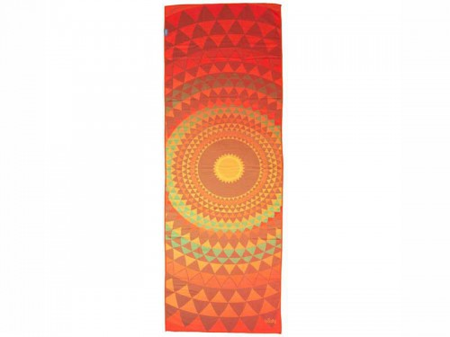 Serviette de Yoga anti-dérapante - 183cmx 60cm Orange