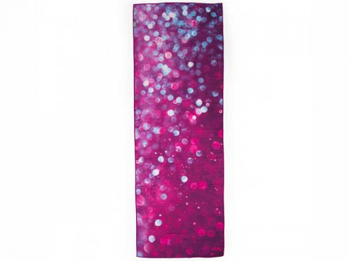 Article de Yoga Serviette de Yoga anti-dérapante - 183cmx 60cm - Prune Prune