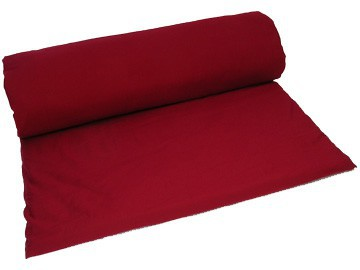 Article de Yoga Tapis de massage 100% coton Bio - Bordeaux 200cm x 160cm