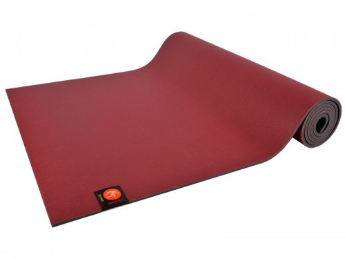 Tapis de Yoga Eco-Mat - 183cmx x 61cm 4.5mm Latex Bordeaux