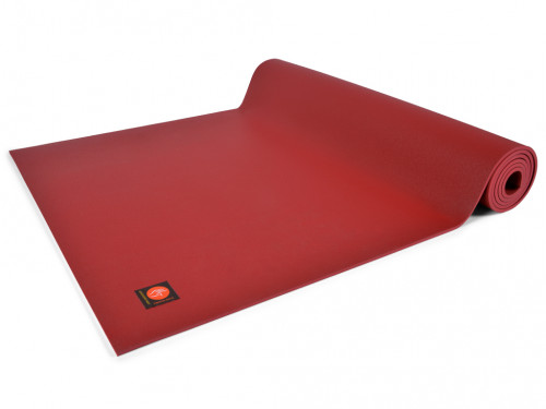 Article de Yoga Tapis de yoga Excellence Mat 100% Latex - 6mm Bordeaux