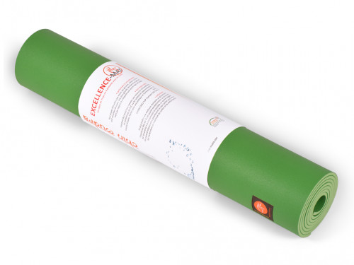 Article de Yoga Tapis de yoga Excellence Mat 100% Latex - 6mm Vert