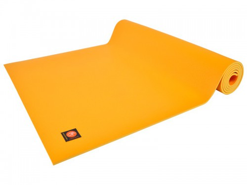 Tapis de yoga Excellence Mat 100% Latex - 6mm Jaune