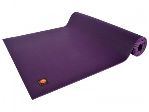 Tapis de yoga Excellence Mat 100% Latex - 6mm Prune