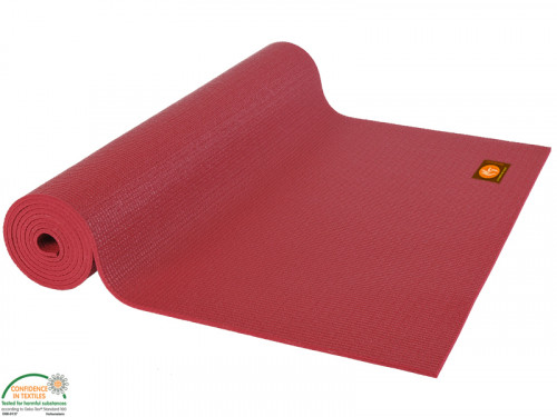Article de Yoga Tapis de yoga Extra-Mat Enfant - 150cm x 60cm x 4.5mm Bordeaux