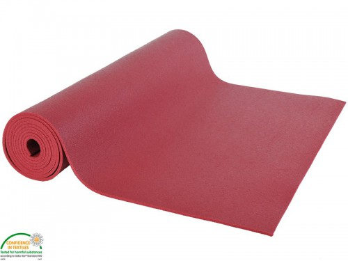Tapis de yoga Large-Mat 220cmx80cmx4.5mm Bordeaux