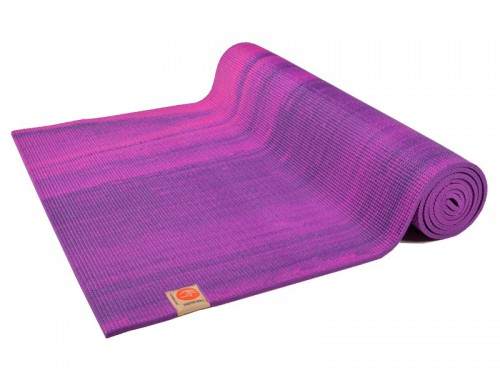 Tapis de yoga Rainbow 183cm x 61cm x 6mm Rose & Violet