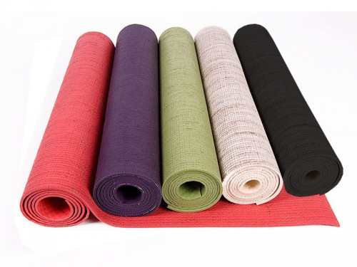 Tapis Eco-Latex 100% pure Latex et Chanvre 5 couleurs