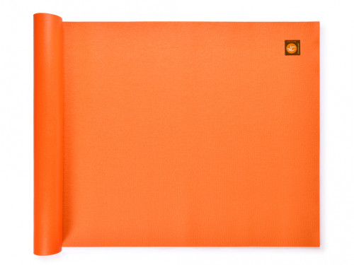 Article de Yoga Tapis Standard-Mat 183cm/220cm x 60cm x 3mm Orange Safran