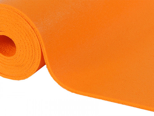 Article de Yoga Tapis Standard-Mat Enfant 150cm x 60cm x 4.5mm Orange Safran