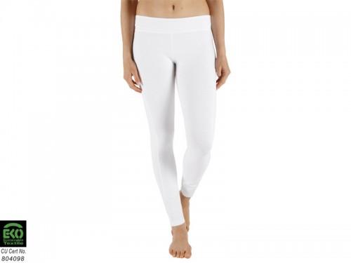 Yoga Legging 95% coton Bio et 5% Lycra Blanc - Vêtements de yoga ... 50094736336